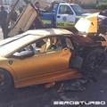 Lamborghini Murcielago gặp tai nạn kinh hoàng