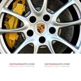 Lô gô bánh xe Porsche Cayenne V8 năm 2004-2006
