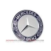 Biểu tượng (lô gô) trên nắp ca pô xe Mercedes C300 AMG năm 2007-2011
