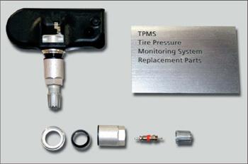 Rắc rối với hệ thống cảm biến áp suất lốp