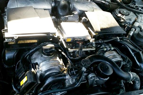 Máy tổng thành xe Mercedes S600 - A2750107400