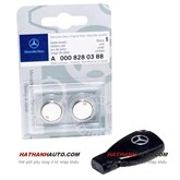 Pin chìa khóa điện xe Mercedes C230 năm 2009 chính hãng
